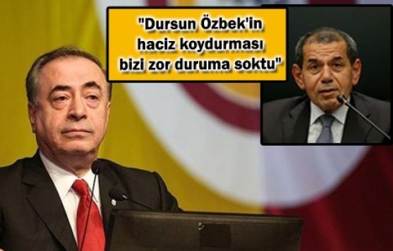 Galatasaray'a 102 milyon liralık haciz!