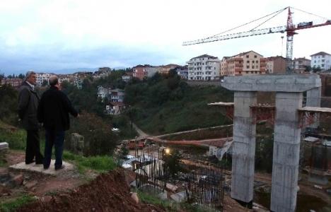Kocaeli'de trafiği rahatlatacak viyadükler inşa ediliyor!
