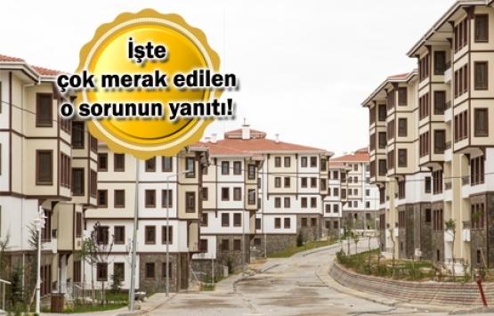 TOKİ alt gelir projelerinden alınan konutlar kiraya verilebilir mi?