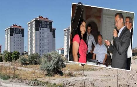 TOKİ Nevşehir'de 419