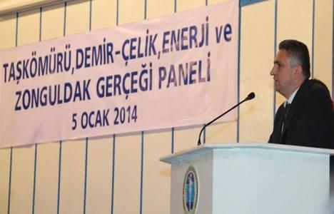 Taşkömürü, Demir-Çelik, Enerji ve Zonguldak Gerçeği Paneli düzenlendi!