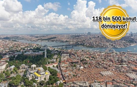İstanbul'da kentsel dönüşüm çalışmaları tam gaz!