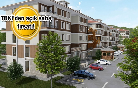TOKİ 133 konut ve 107 iş yerini bugün satıyor!