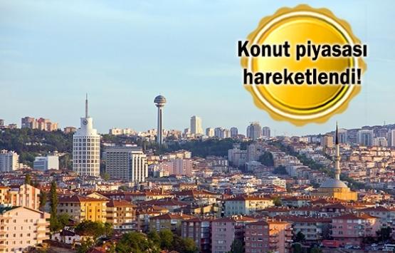 Başkentte konut satışları yüzde 15 arttı!