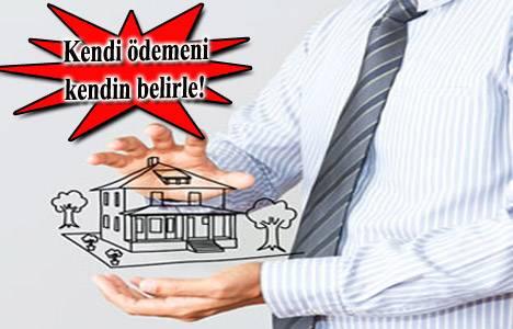 Kişiye özel ödeme planı sunan konut projeleri 2013!