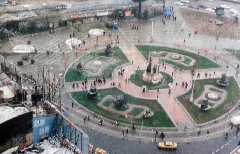 1999 yılında Taksim'e
