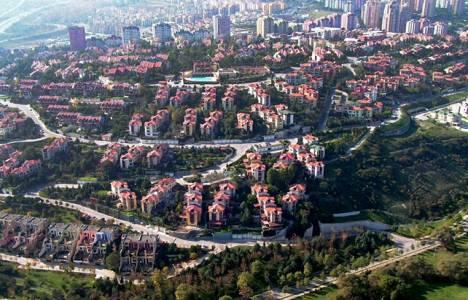 Bahçeşehir'de Park çevresindeki