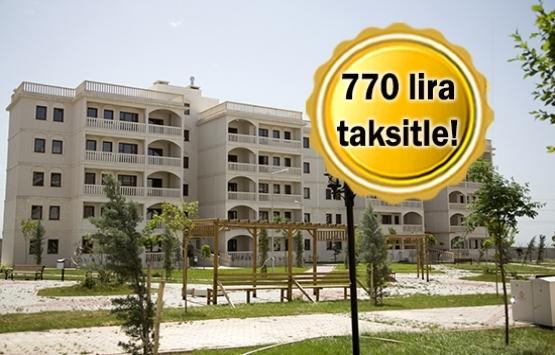 TOKİ'den 14 bin lira peşinatla ev fırsatı!