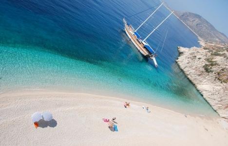 Antalya Kaputaş Plajı'nı