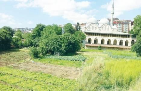Piyalepaşa Cami'nin önünde bulunan otopark inşaatı durduruldu!
