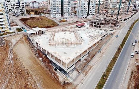 Samsun'a Karadeniz'in en büyük cami ve külliyesi inşa ediliyor!