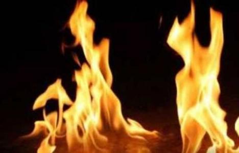 Başkent'te trafo yangını!