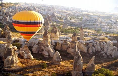 Dünyanın en gözde balon uçuş alanı: Kapadokya!