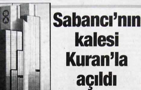 1993 yılında Sabancı