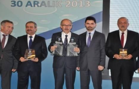 Ankara Büyükşehir Belediyesi su yönetimi ve çevre projeleri ile ödüle layık görüldü!
