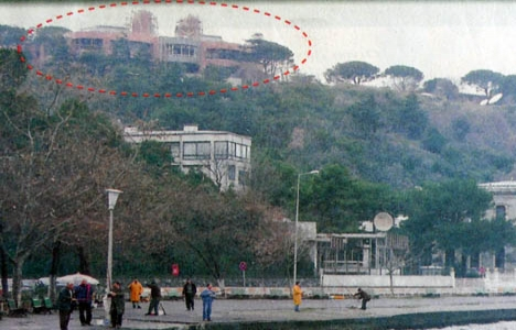 1997 yılında Boğaz'a