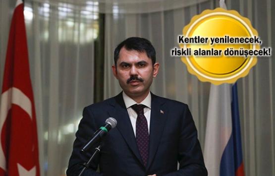 Murat Kurum: Gecekonduların