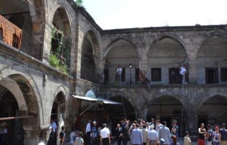 Kayseri'deki tarihi Vezirhan restore ediliyor!