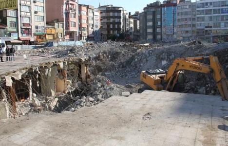 Aksaray İSKİ binasının yıkıldığı alan ne olacak?