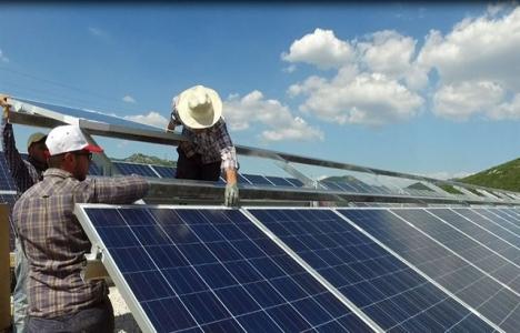 Konya Altınekin Güneş Enerjisi Santrali'nin yüzde 62'si tamam!