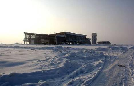 Yüksekova Havaalanı inşaatı