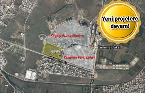 Sinpaş Bursa'daki arsasını