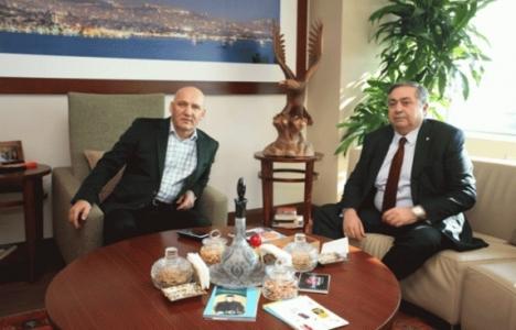 Nazmi Durbakayım'dan Altınok Öz'e ziyaret!