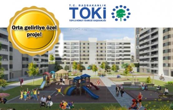 TOKİ'den Kayaşehir'e 868 yeni konut!