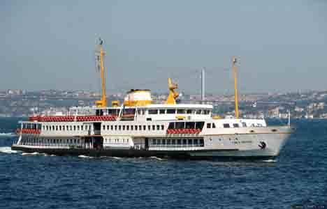 Vapur seferlerine Marmaray