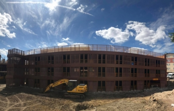 Kırklareli Katlı Kapalı Otopark'ın inşaatı tamamlandı!