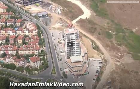 İşmekan Residence'ın havadan görüntüleri!
