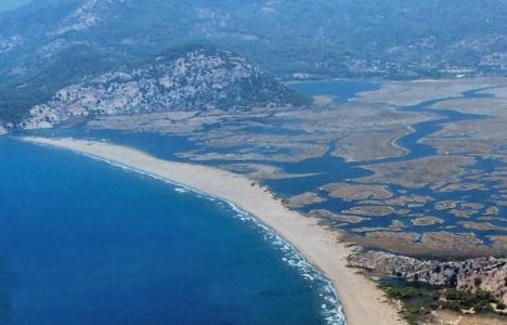 İztuzu Plajı, dünyanın