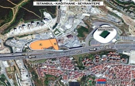 Tahincioğlu, Emlak Konut Seyrantepe arazisine en yüksek teklifi verdi!