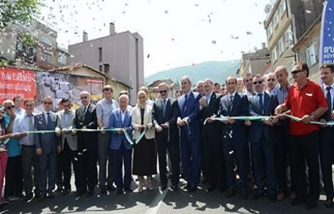Bursa Davutkadı Dağyolu Caddesi açıldı!