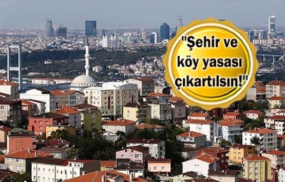 Mahalleye dayalı şehir modeli önerisi!