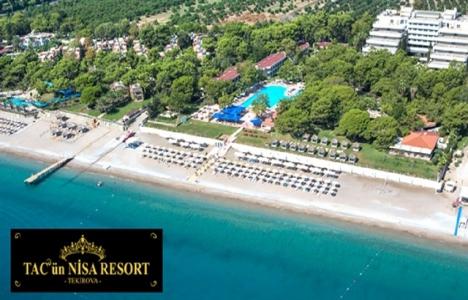 Kemer Tekirova Tac'ün Nisa Resort Otel açılıyor!