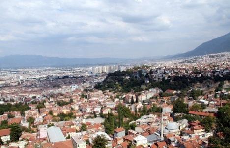 Bursa'daki plansız yapılaşma