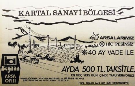 1976 yılında Kartal