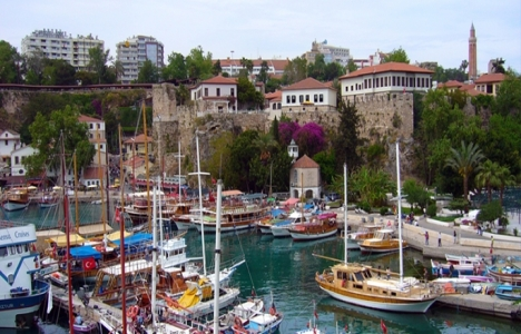 Antalya'da Rus turist