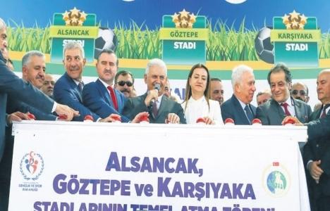 İzmir'in 3 stadı