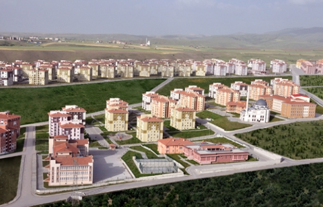 Trabzon'da satılamayan TOKİ