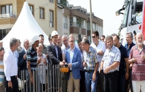 Bursa Mescid-i Aksa Camii'nin temeli atıldı!
