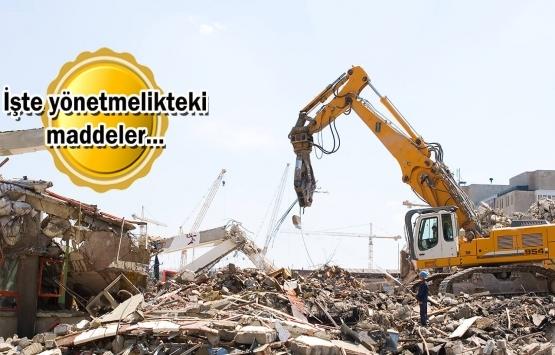 Bina yıkımlarında yeni dönem 2022'de başlıyor!