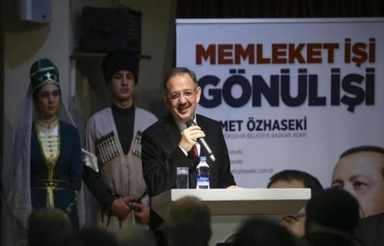 Mehmet Özhaseki: Ankara'ya