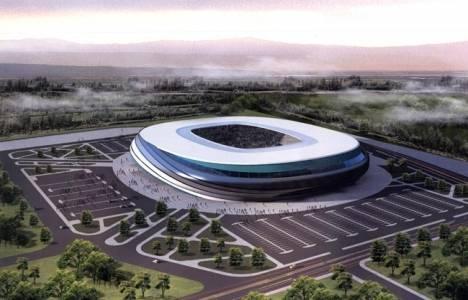 Sakarya Stadyumu'nun yüzde 60'ı tamamlandı!