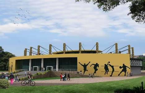 Kamil Ocak Spor Salonu'nun yerine 3 bin kişilik spor salonu yapılacak!