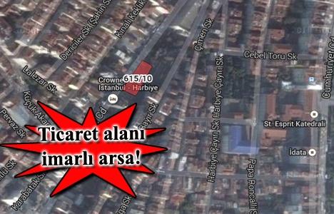 Şişli Dolapdere Caddesi'nde 19.8 milyon TL'ye satılık arsa!