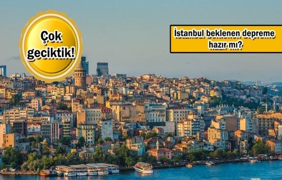 İstanbul'daki 1 milyon 166 bin binada deprem riski yüksek!