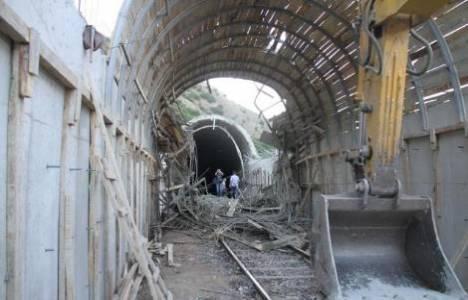 Kayseri Yahyalı'da baraj inşaatında göçük meydana geldi!