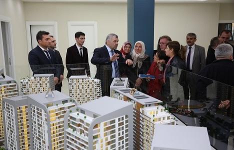 Kayseri Sahabiye Dönüşüm Projesi'ne yoğun talep!